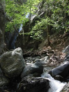 Troodos waterfalls