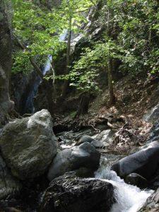Troodos waterfalls